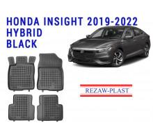 Rezaw-Plast  Rubber Floor Mats Set for Honda Insight 2019-2022 Hybrid