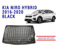 Rezaw-Plast  Rubber Trunk Mat for Kia Niro Hybrid 2016-2020 Black