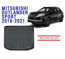 Rezaw-Plast  Rubber Trunk Mat for Mitsubishi Outlander Sport 2016-2021
