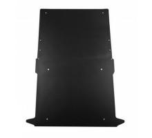 Rezaw Plast Flat rubber cargo mat for Dodge Ram Promaster City 2014-2022 Black
