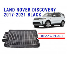 Rezaw-Plast  Rubber Trunk Mat for Land Rover Discovery 2017-2021 Black