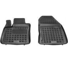 Rezaw-Plast Rubber Floor Mats Set for Ford Transit Connect 2014-2020 2PC Black