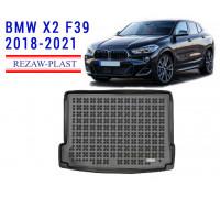 Rezaw-Plast Rubber Trunk Mat for BMW X2 F39 2018-2021 Black