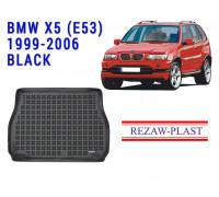 Rezaw-Plast Rubber Trunk Mat for BMW X5 (E53) 1999-2006 Black