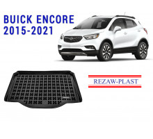 All Weather Rubber Trunk Mat For BUICK ENCORE 2015-2021 Black