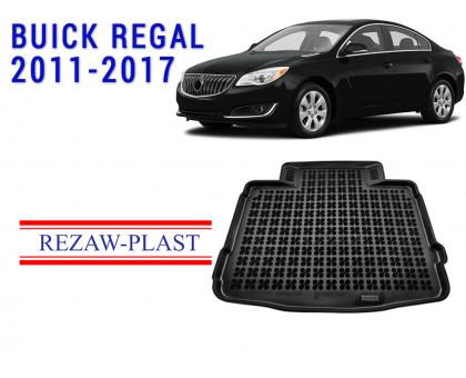 Rezaw-Plast Rubber Trunk Mat for Buick Regal 2011-2017 Black