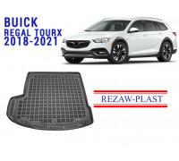 Rezaw-Plast Rubber Trunk Mat for Buick Regal Tourx 2018-2021 Black