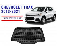 Rezaw-Plast Rubber Trunk Mat for Chevrolet Trax 2013-2021 Black