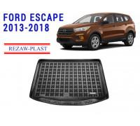 Rezaw-Plast Rubber Trunk Mat for Ford Escape 2013-2018 Black