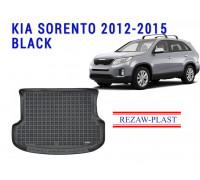 Rezaw-Plast Rubber Trunk Mat for Kia Sorento 2012-2015 Black