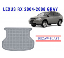 All Weather Rubber Trunk Mat For LEXUS RX 2004-2008 Gray