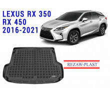 All Weather Rubber Trunk Mat For LEXUS RX350 RX450 2016-2021 Black