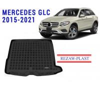 Rezaw-Plast Rubber Trunk Mat for Mercedes GLC 2015-2021 Black