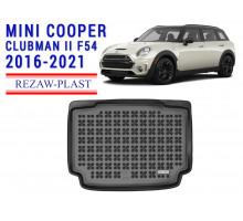 All Weather Rubber Trunk Mat For MINI COOPER CLUBMAN II F54 2016-2021 Black
