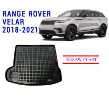 All Weather Rubber Trunk Mat For RANGE ROVER VELAR 2018-2021 Black