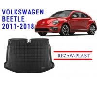 Rezaw-Plast Rubber Trunk Mat for Volkswagen Beetle 2011-2018 Black